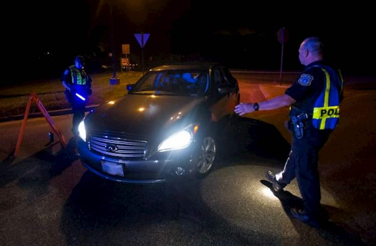 pulled over for dui and let go